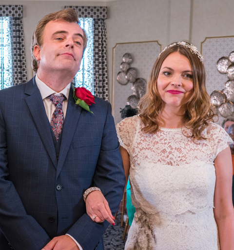 Tracy and Steve's wedding day ends in carnage!