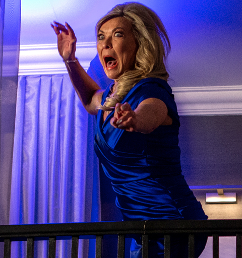 Kim Tate returns – but who wants her dead?