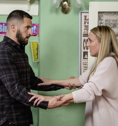 Ross wants a fresh start with Rebecca away from the village