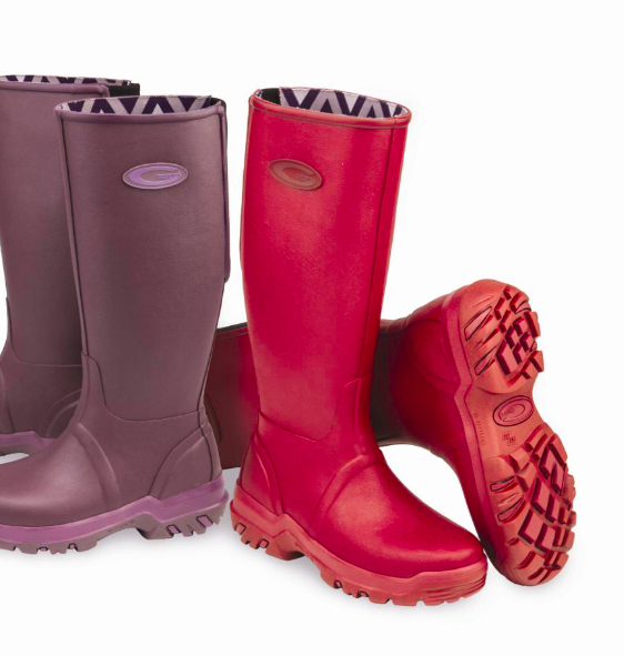 Grubs Frostline 5.0 Wellington Boots in Shale In all Sizes New for This Autumn