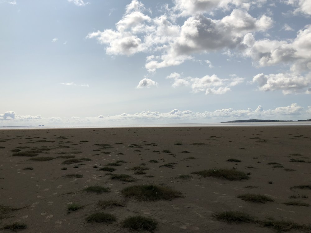 Wide open expanse of Morecombe Bay has to be one of the most desolate yet beautiful areas in the UK.