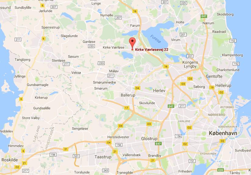 TrapMe find vej Google maps