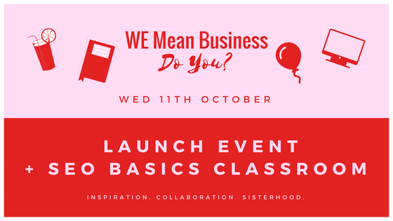 Join us for our launch party while also helping your business grow! Smart decision!