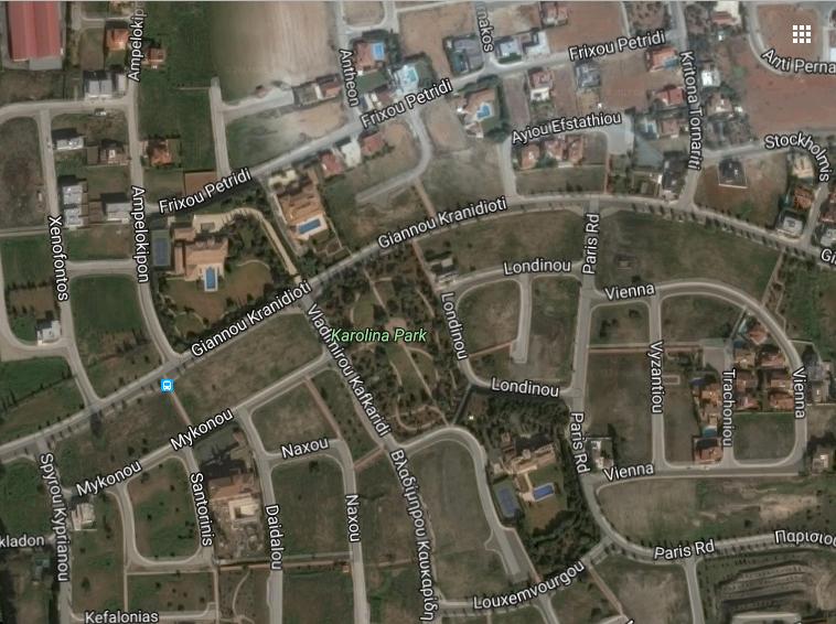 Πωλούνται οικόπεδα στο Carolina Park (Περ. Carlsberg)