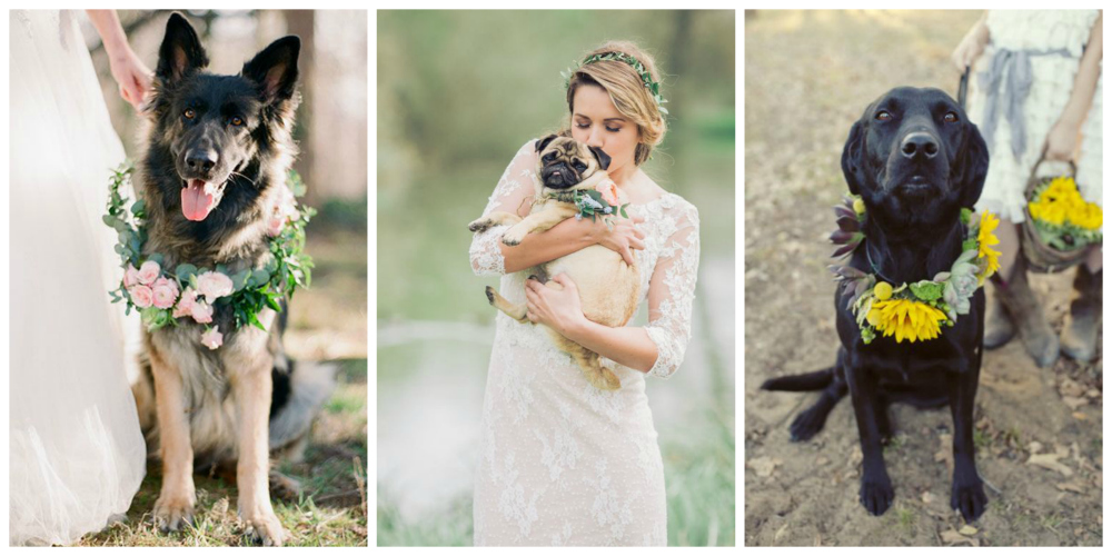 Left:  Ben Q Photography  on  BRIDES  | Centre:  Charli Photorgaphy  on  Rock My Wedding  | Right: via  Deer Pearl Flowers