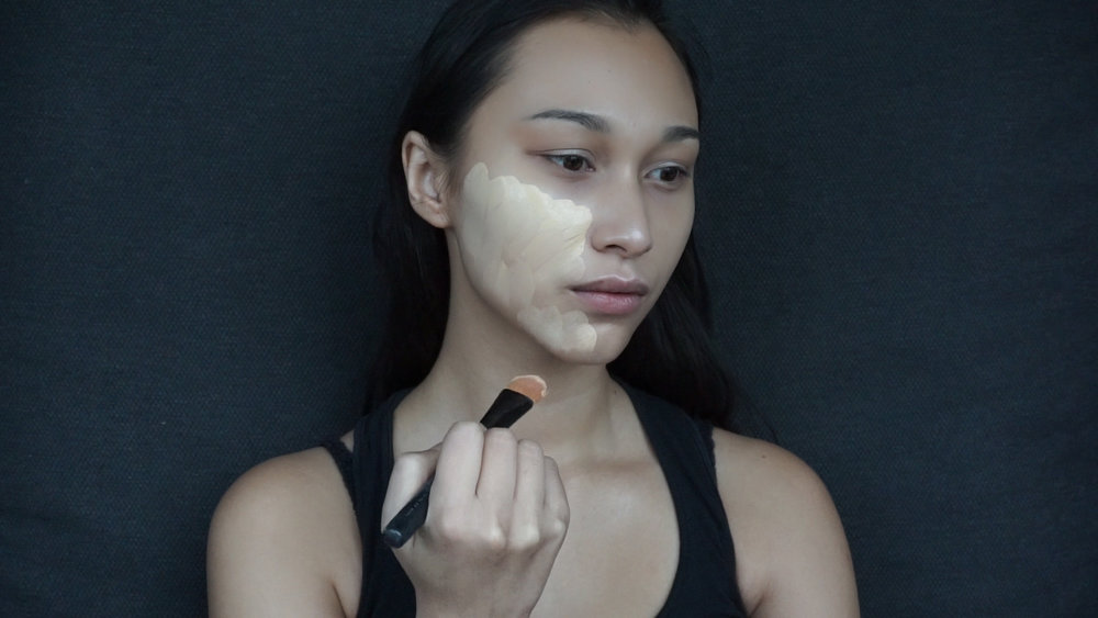 Petal Skin Foundation with Mac Face and Body