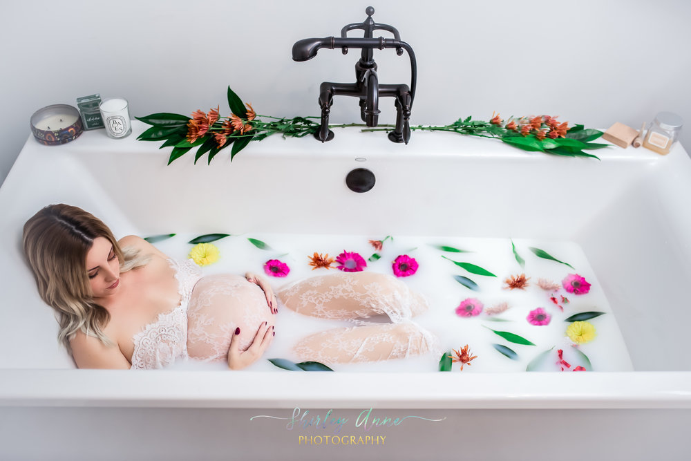 milk bath session ma flowers maternity back bay