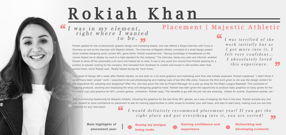 One of our previous students Rokiah and her experiences during the placement.