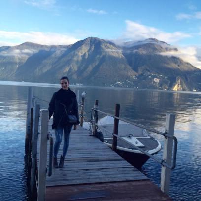 Lake Lugano, southern Switzerland