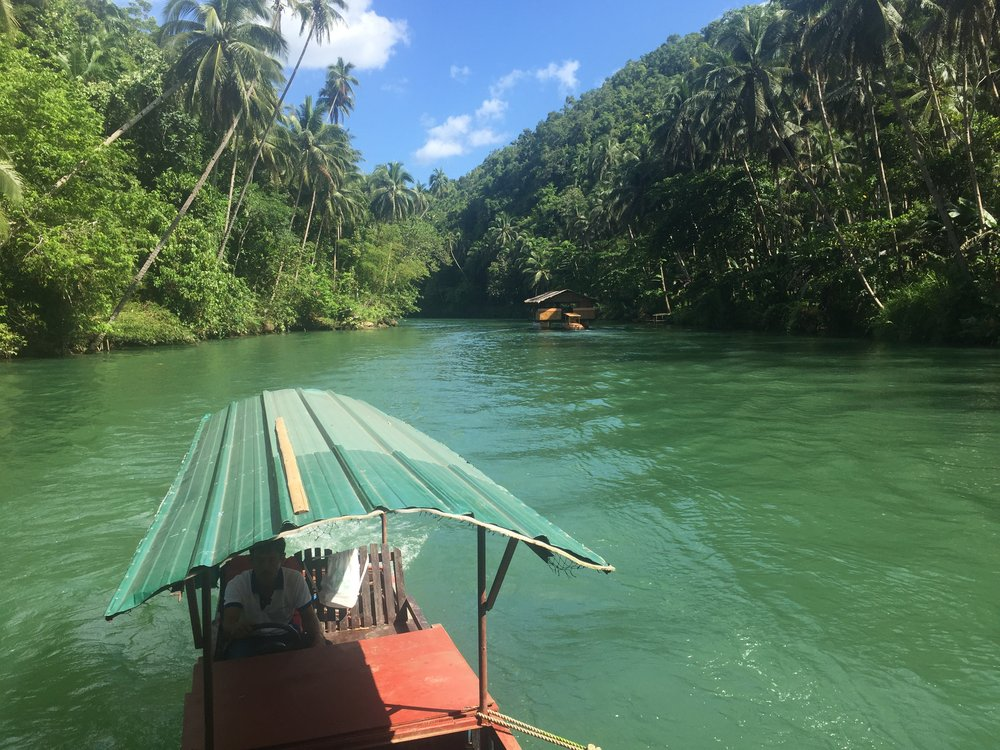 A view of the Loboc river in Bohol, one of the most environmentally diverse and unique locations on the planet. The exclusive earthly home of the Tarsier species,  this Visayan island is a must see stop in PH!