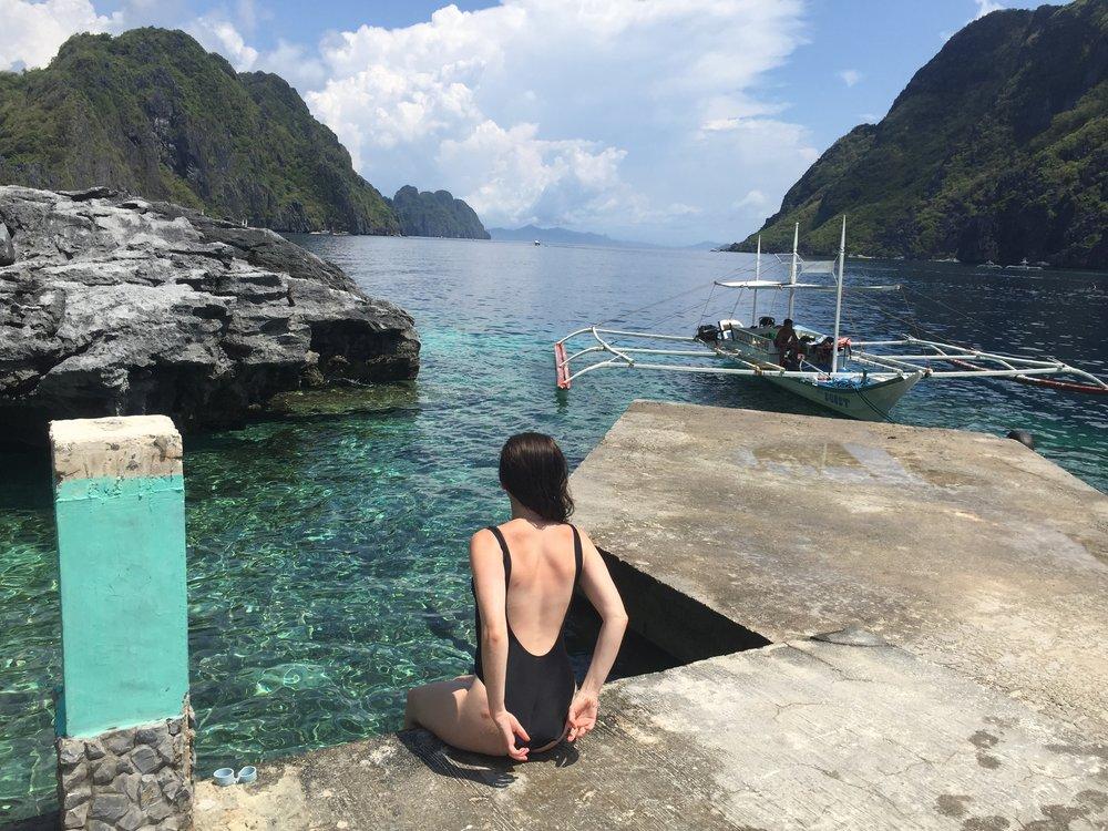 Matinloc Island off the coast of El Nido, Palawan