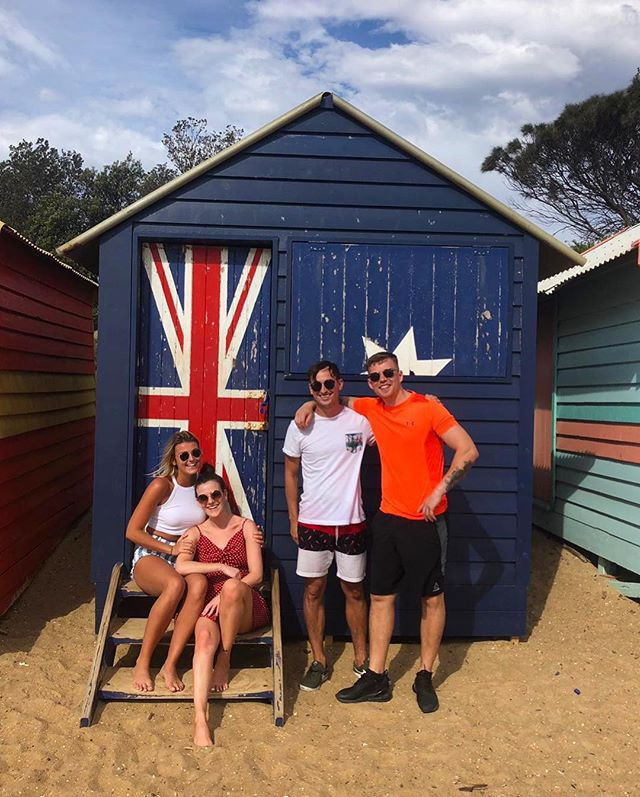 Ticked Brighton Beach Boxes off the bucket list with this bunch ✅