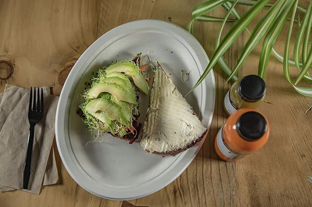 Avocado toast with our Fuel Juice Bar flair. The perfect way to start your week. #fuelyourself