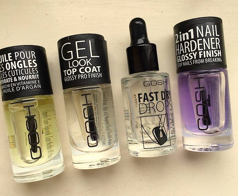 GOSH Nail Care Products — brownbeautytalk