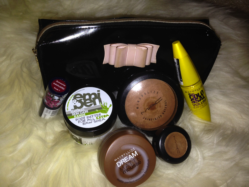 Brown Beauty_Bukky Make Up bag