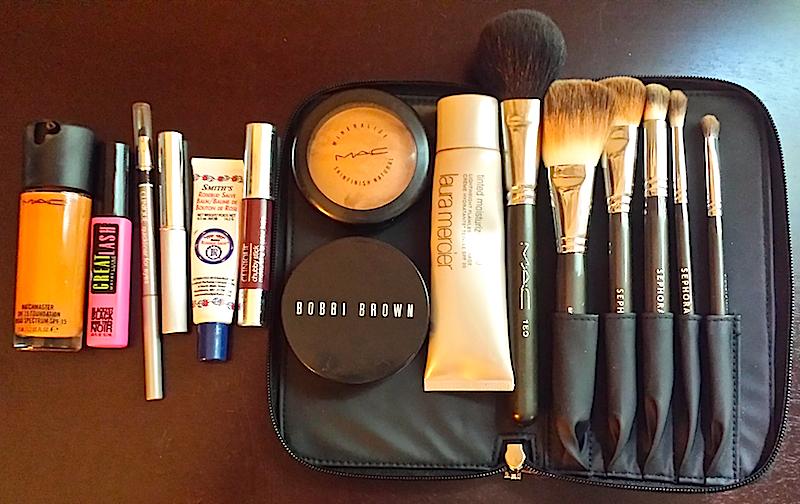 Kwana's makeup bag