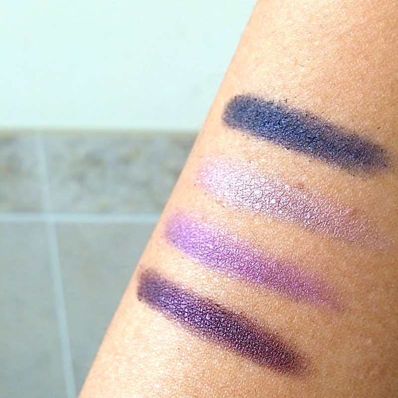 Fashion Fair Naughty Collection Eyeshadow Swatch