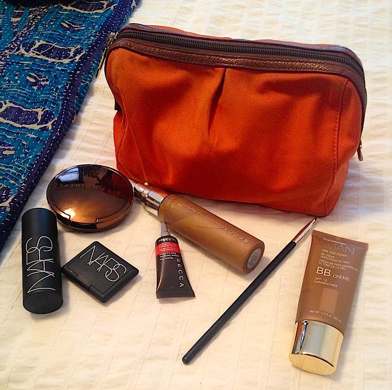 Jodie Patterson's makeup bag
