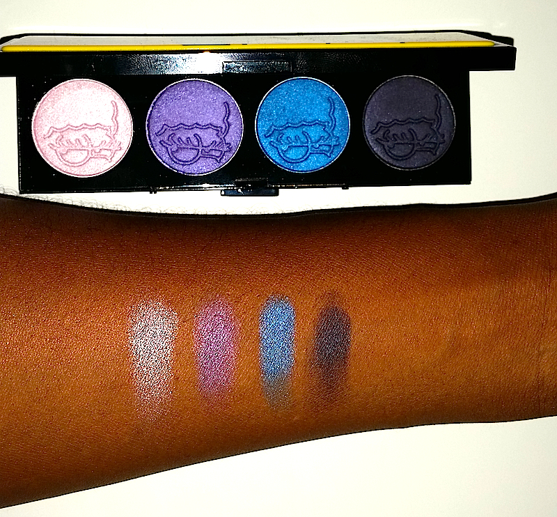 MAC Simpson Collection Swatch