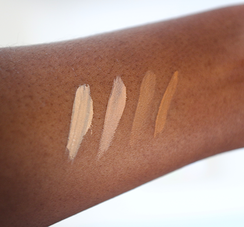 Clinique Airbrush Concealer Swatches