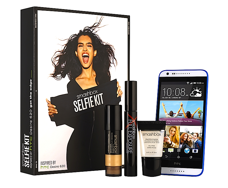 HTC and Smashbox Selfie Kit