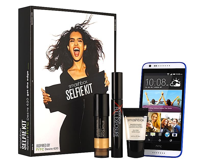 HTC and Smashbox Selfie Kit