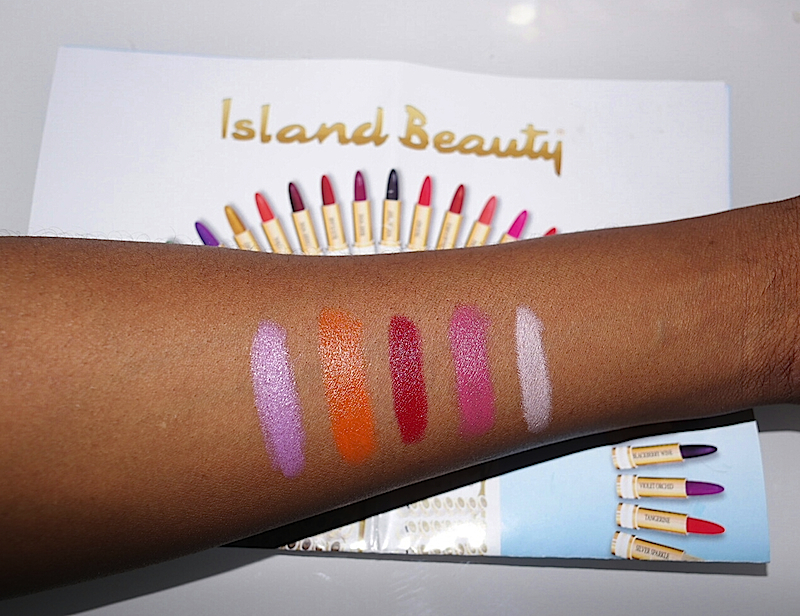 Island Beauty Swatch