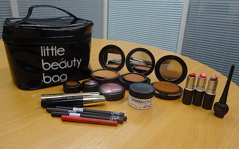 Mavis's makeup bag