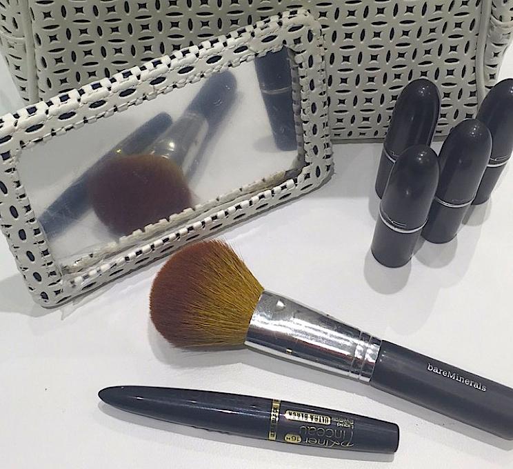 Neesha's makeup bag