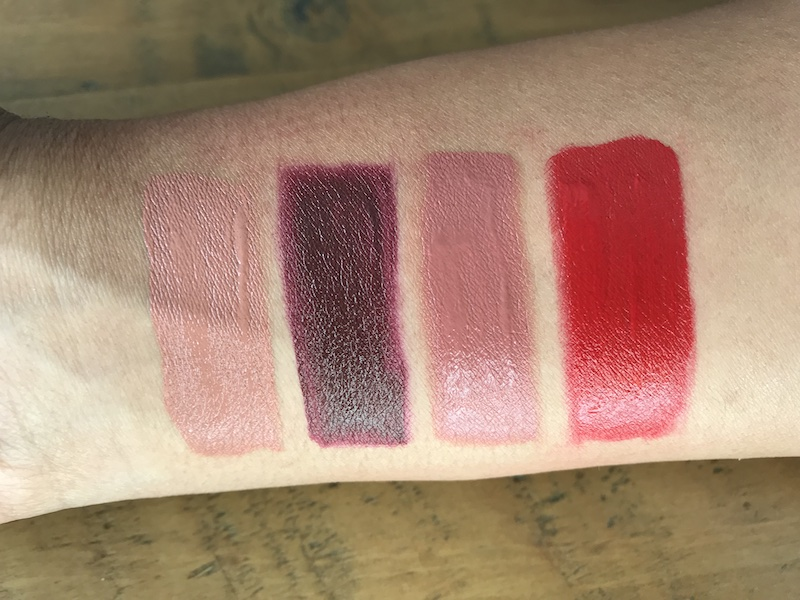 Huda Beauty Demi Matte Liquid Lipsticks swatches.jpg
