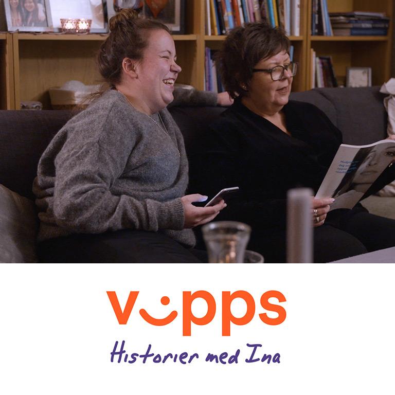 Vipps – Historier med Ina