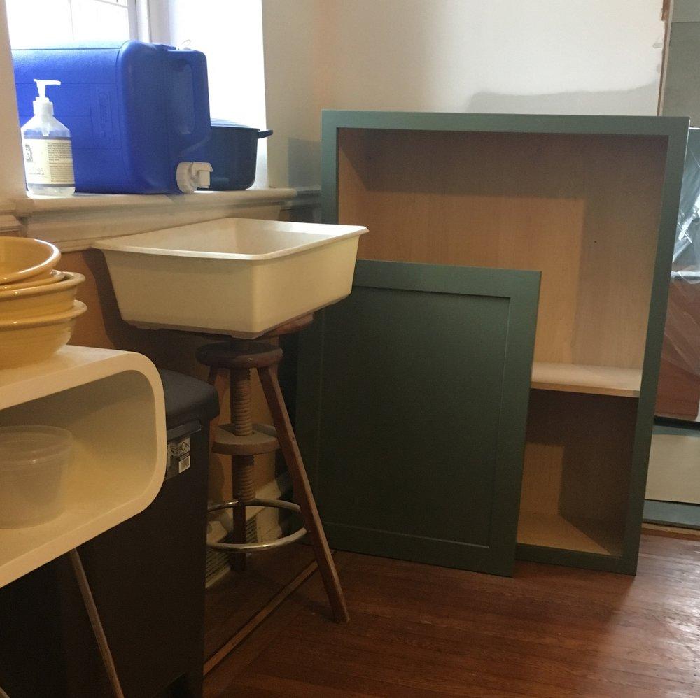 Airy Kitchen Remodel Sink
