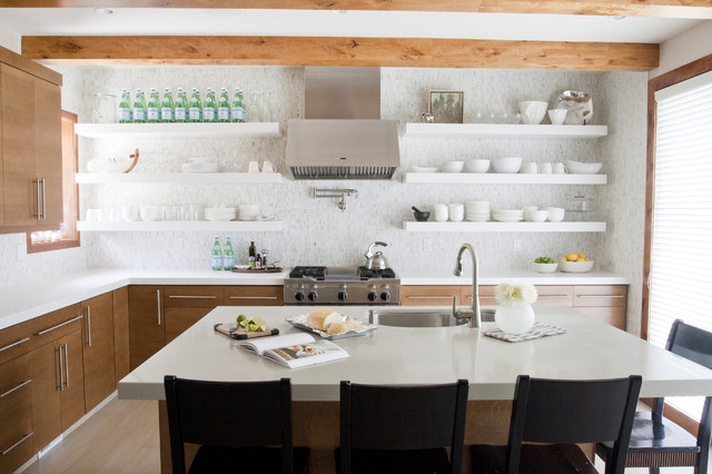 Pros and Cons of Open Shelving in the Kitchen | Airy Kitchens