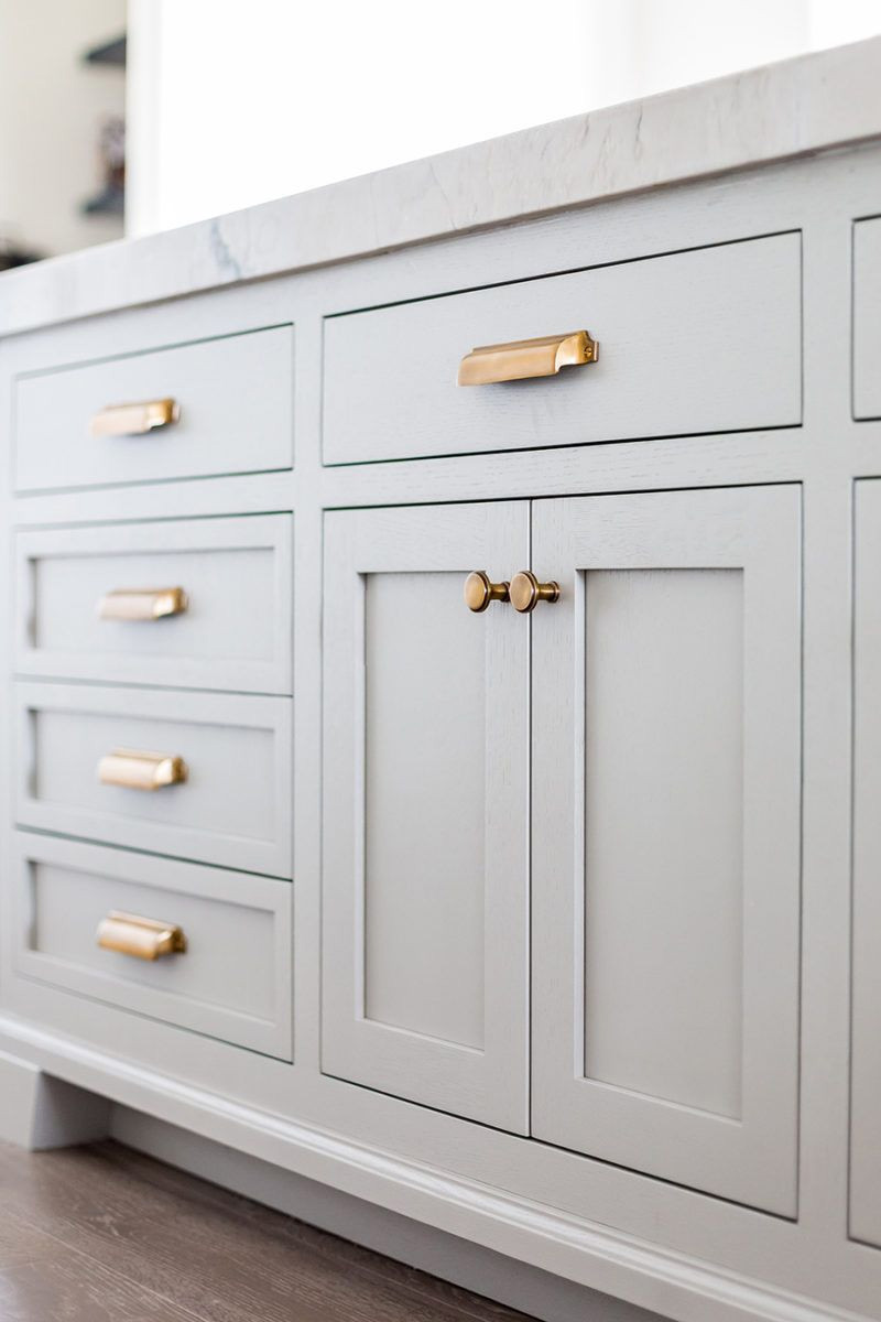 Unlacquered Brass Cabinet Hardware
