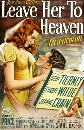 The  Leave Her To Heaven  poster.