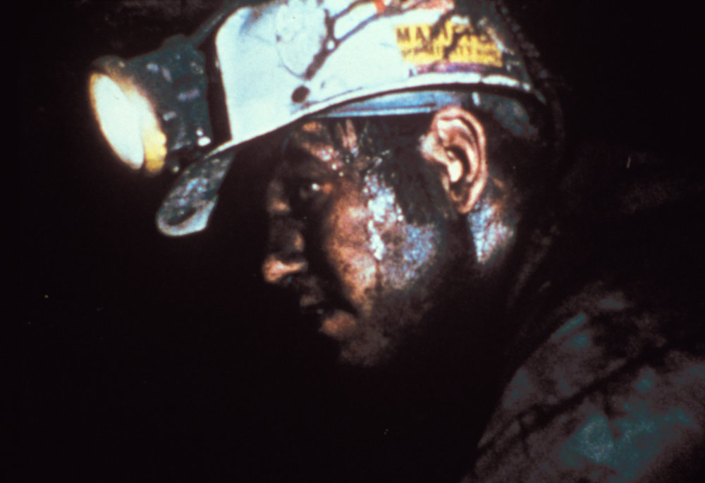 A coal miner on the job. Photo courtesy of Cabin Creek Films.