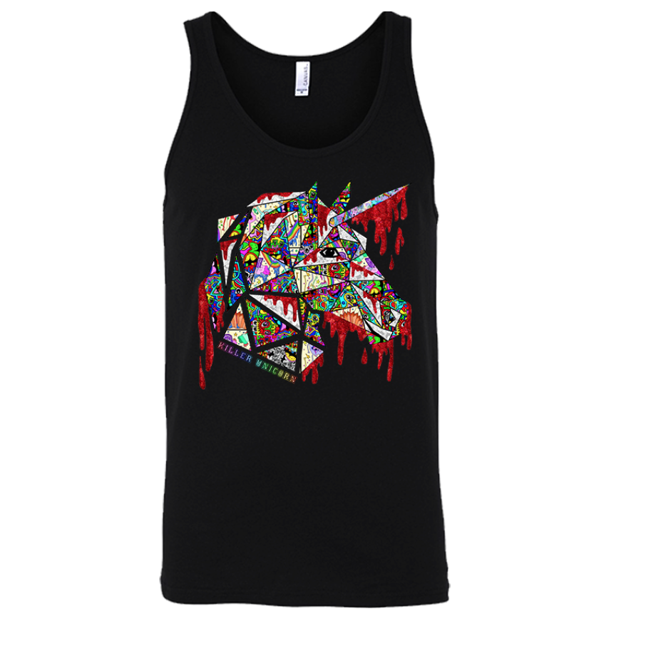 Killer Unicorn x Tyler Wallach Tank - $24 S-2XL