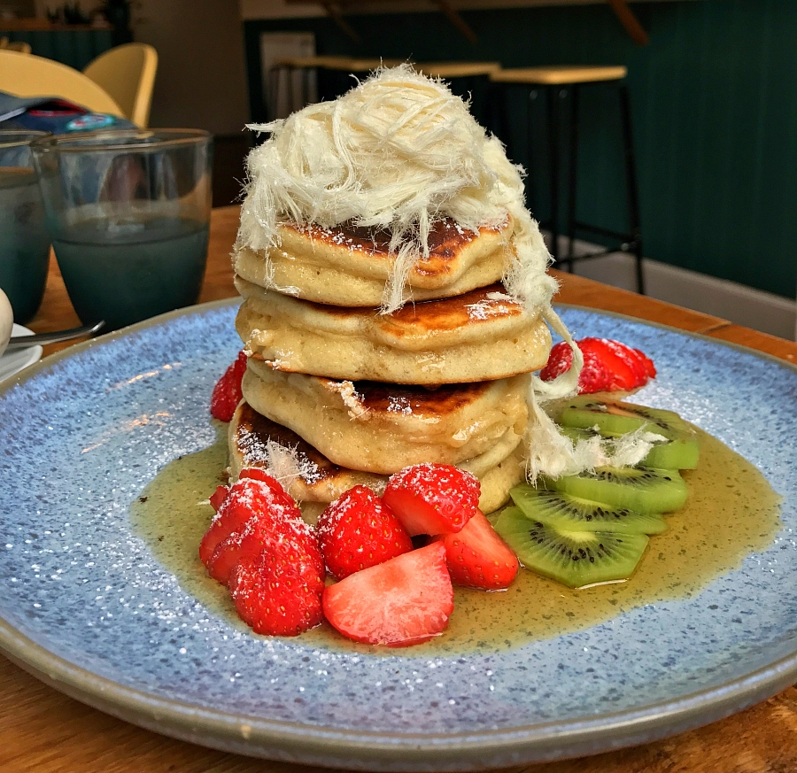 Pot Luck pancakes Glasgow
