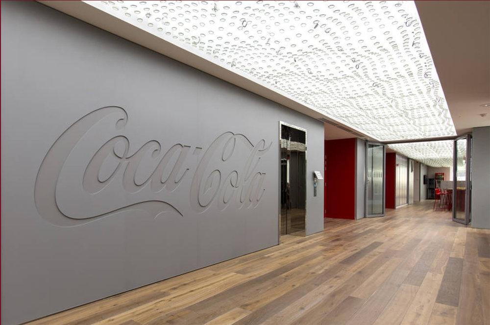 Siège Coca Cola. Paris