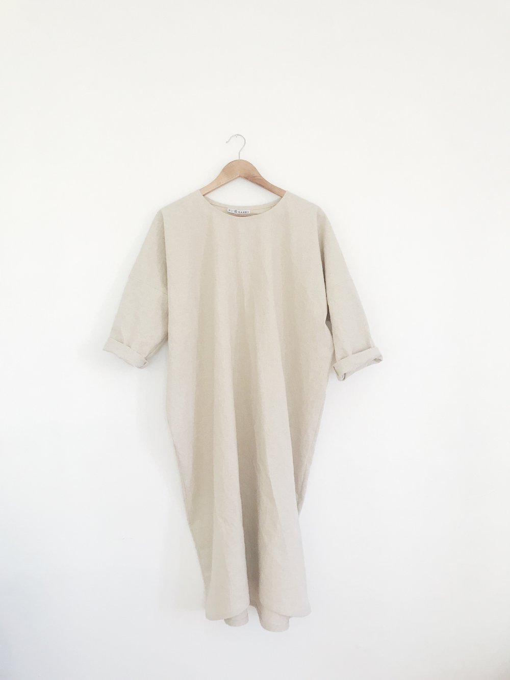 dress 1, a style I had available last spring, will be coming back in an organic linen cotton