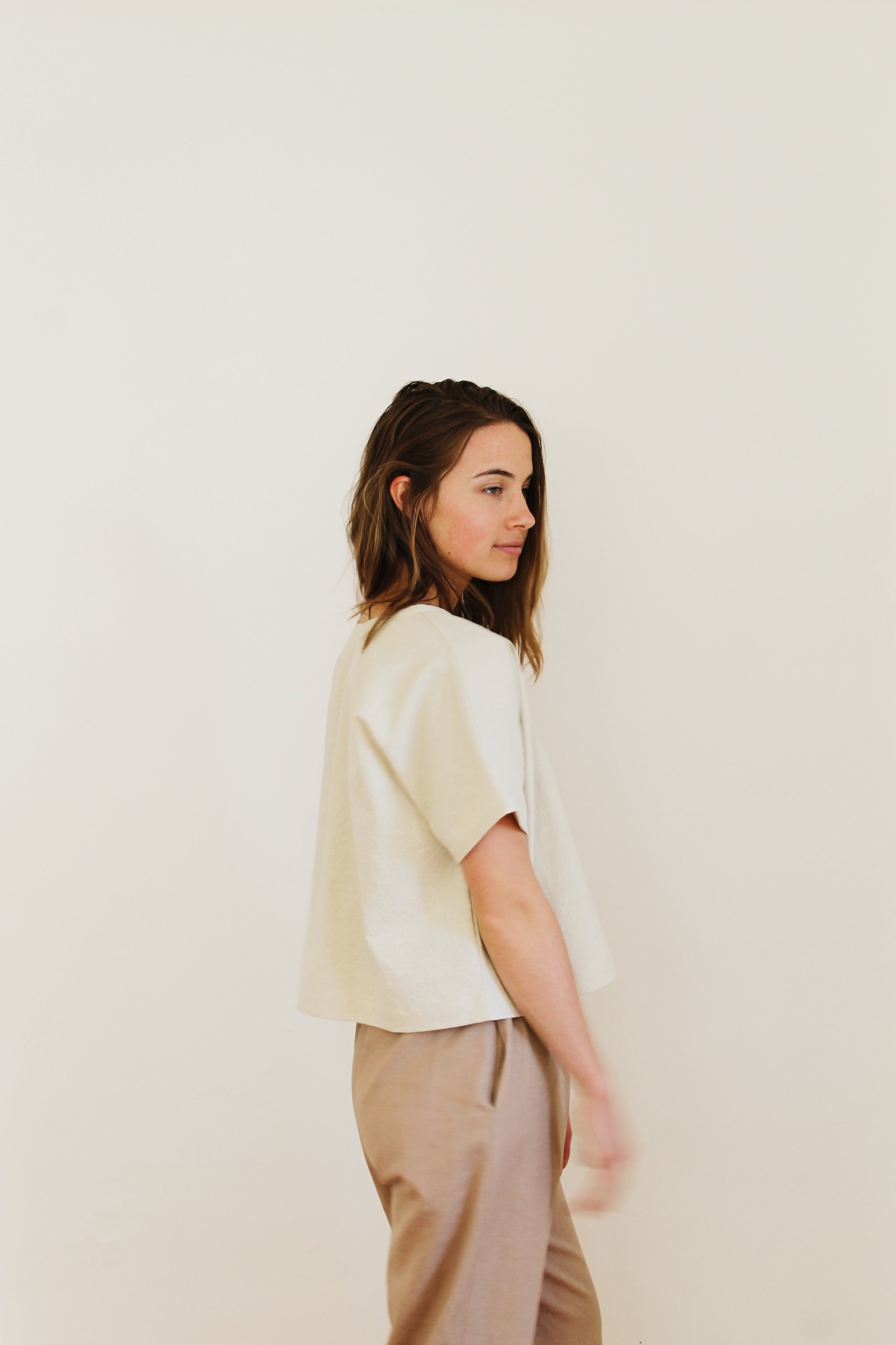 32cf181fe59e t-shirt 4 in organic linen cotton (tea) — eli & barry