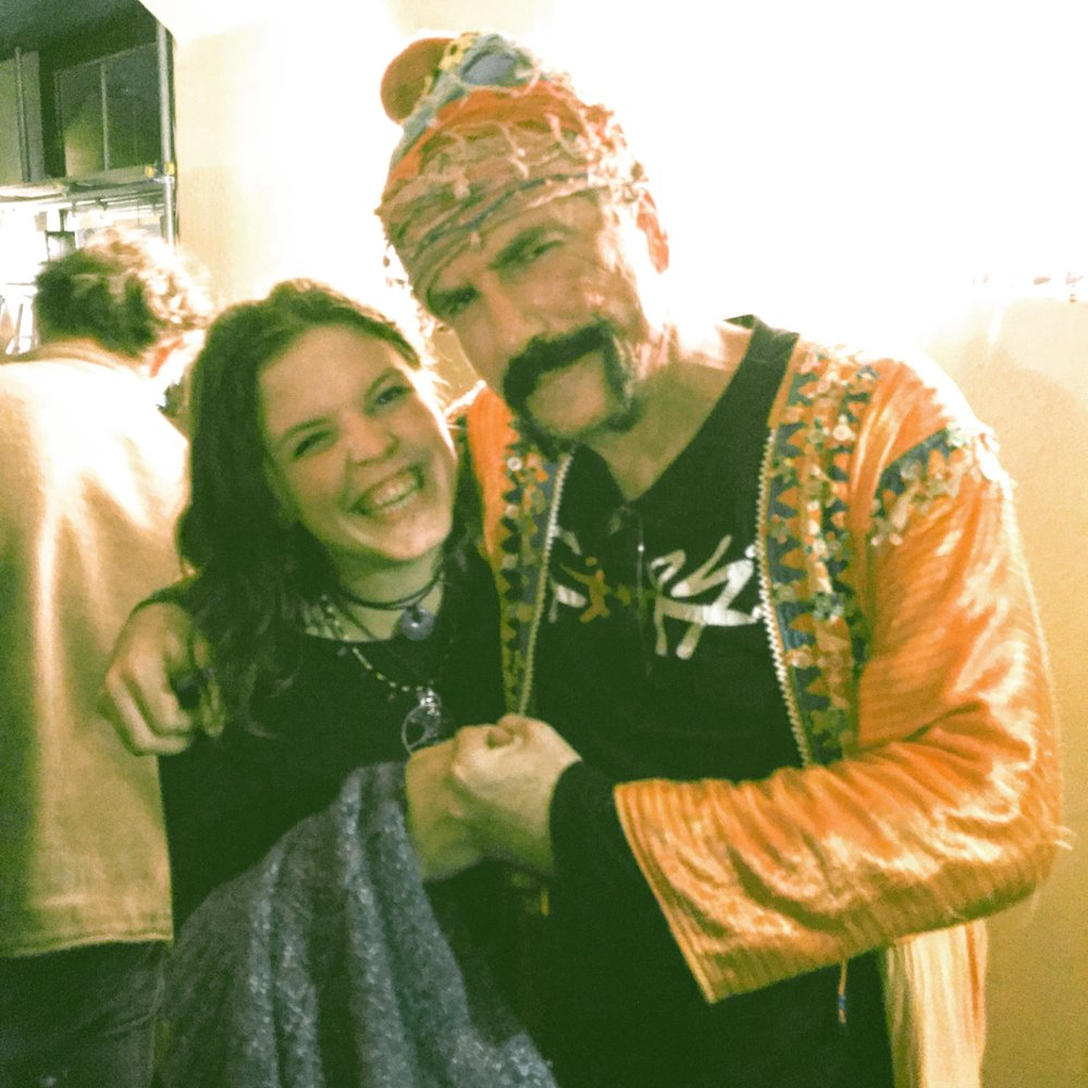 Me and Murat Ertel  Baba Zula @ Nells Jazz & Blues   29.01.18