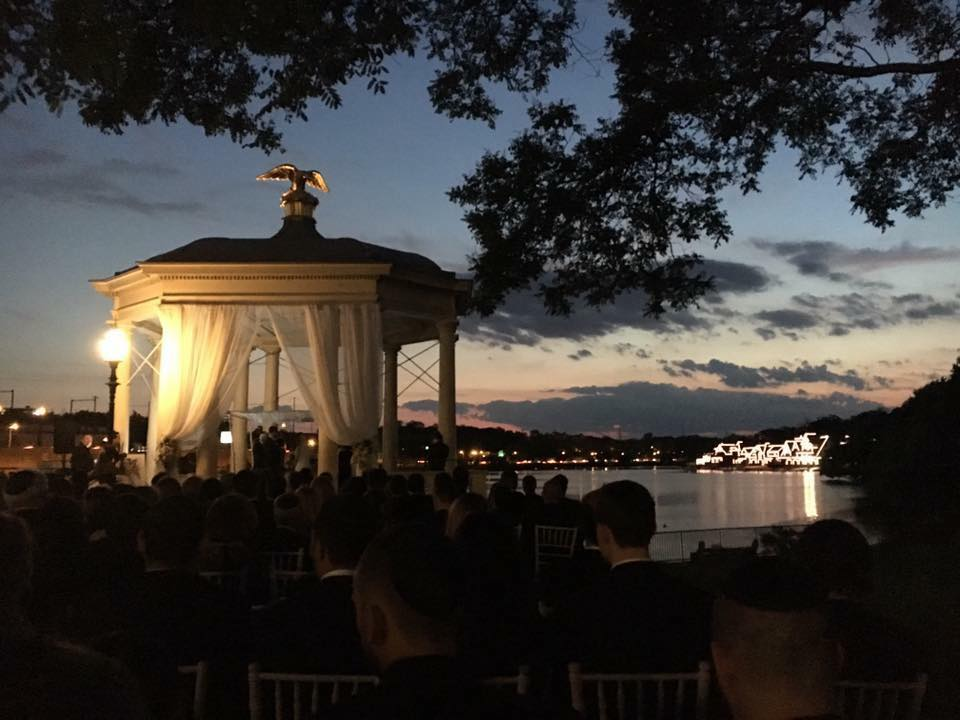 Wedding of Brad Adelman and Bianca Costa at the Water Works in Philadelphia