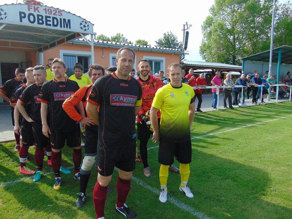 Bratia Havrlentovci v derby zápase s kapitánskymi páskami.