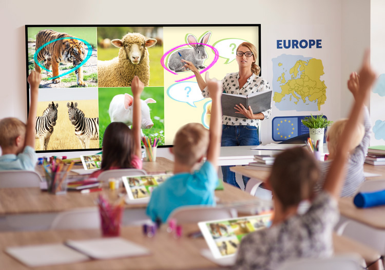Digital signage education