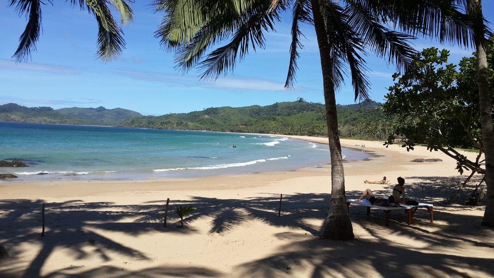 beachfront property palawan