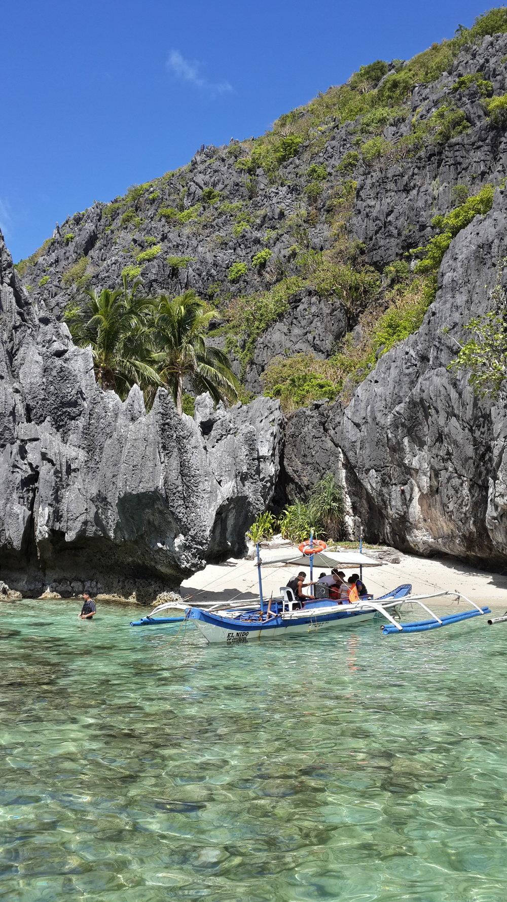 Boat life in Palawan.