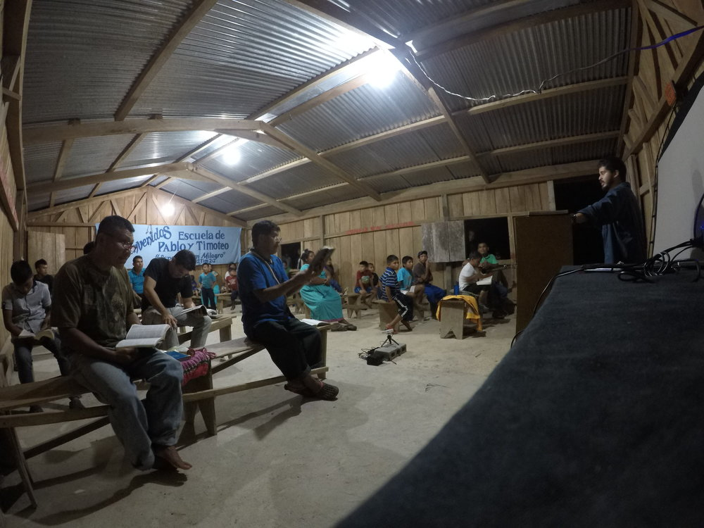Guabal night meeting.JPG