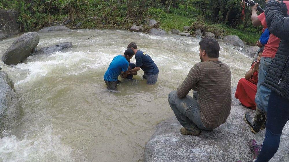 Baptism at Hacha