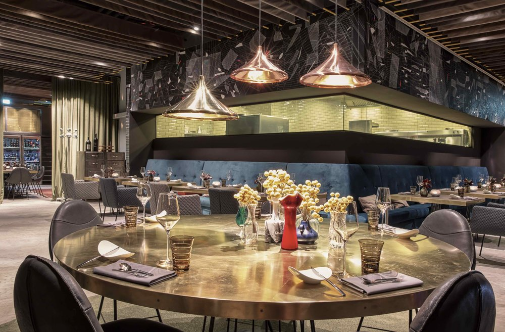 Skykitchen Dreimeta Impressive Restaurant Dining Room Design